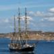 Nu styr segelgymnasiet mot Island