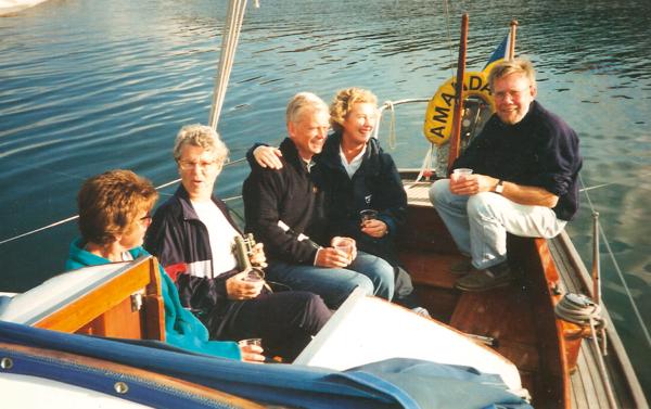 Härligt att äga båt ihop
