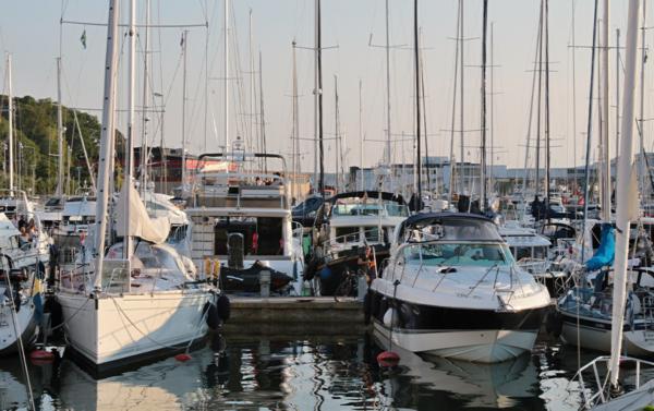 Stökig sommar i Visby gästhamn