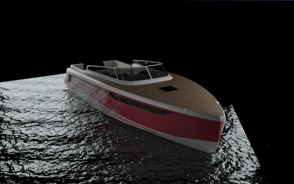 Första motorbåten från X-Yachts