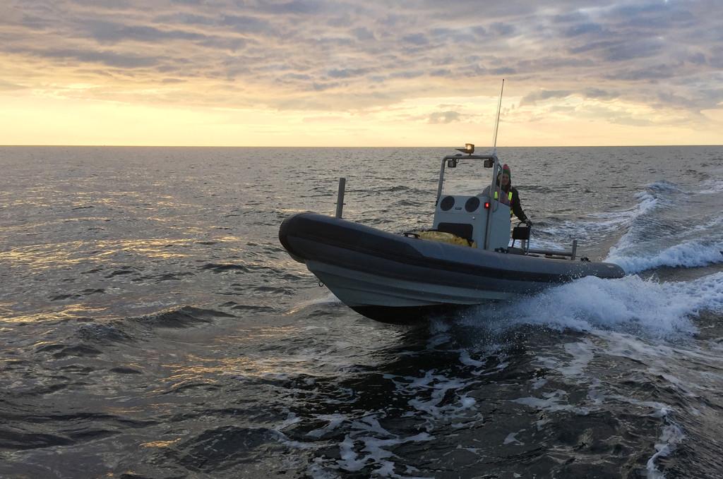 Även fritidsbåtar av rib-typ leder till många personskador. Båten på bilden har inget direkt samband med texten.