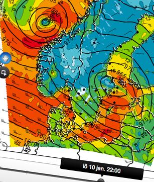 Väderkarta