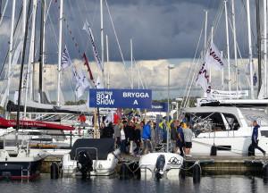 Motorbåtarna dominerade i antal, men segelbåtarna syntes väl. Bild: Linda Hammarberg