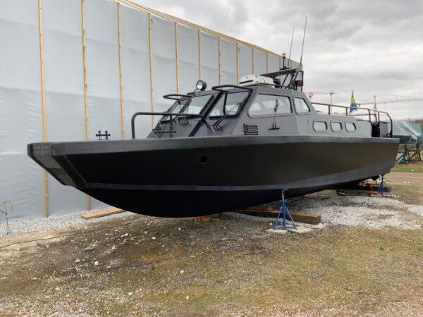 Stridsbåt blir turnébåt