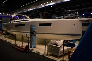 Jeanneau Sun Odyssey 440 utsågs till European Yacht of the Year 2018 på Düsseldorfmässan i år. Bild: Linda Hammarberg