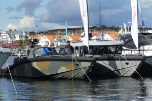 Svenska Marell vill att det ska synas vad båtarna är byggda för. Bild: Linda Hammarberg