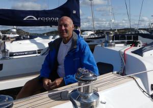 Torgny Jansson från Arcona var nöjd med Marstrand och laddar för Gustavsberg. Bild: Linda Hammarberg