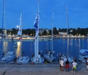 I år reserverade arrangören av den polska havskappseglingen runt Gotland 125 meter kaj i Visby hamn. Seglingen hade 37 startande båtar i år.