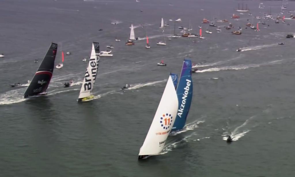 Volvo Ocean Race direktsänder segligarna på webben för den som inte kan ge sig ut själv. Bild: Volvo Ocean Race