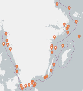 Ett trettiotal vrakplatser är identifierade som miljörisker. Bild: HaV